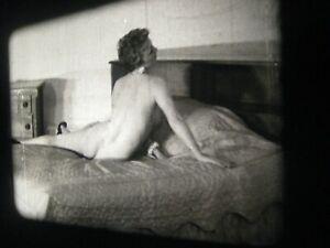 1950s Vintage 16mm film .. model ,  ....   # 707