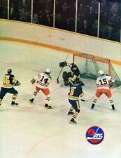 1976 Winnipeg Jets Home vs Edmonton Oilers WHA World Hockey Association Program