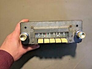1959 Ford Galaxie Fairlane Mercury AM Radio Original Used part# 94BF Push Button