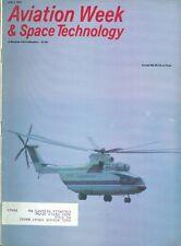 1981 Aviation Week & Space Technology Magazine: Soviet Mil Mi-26/NASA/NATO/FCC