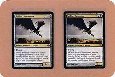 MTG - 2X Sphinx Summoner X2 - Conflux - Rare NM/MT - 2 Cards