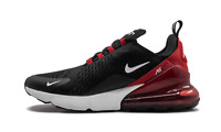 """Nike Air Max 270 """"Bred"""" Black/Red/White AH8050-022 New Men's Shoes Size 10"""