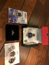 Tissot T067.417.11.041.00 PRS 200 Steel Blue Dial Watch - CHRONOGRAPH w/extras