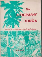 TRAVEL , THE GEOGRAPHY OF TONGA by E A CRANE 1ST ED 1979