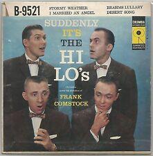 "THE HI-LO'S ""SUDDENLY IT'S THE HI-LO'S"" USA 50'S EP COLUMBIA 9521"