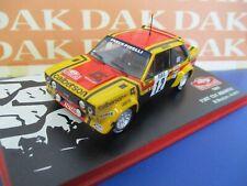 Die cast 1/43 Modellino Auto Fiat 131 Abarth Rally Monte Carlo 1980 M. Mouton