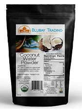 8 oz ORGANIC COCONUT WATER FREEZE DRIED POWDER ELECTROLYTES