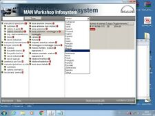 MAN WORKSHOP INFOSYSTEM 01 2015 MULTILANGUAGE MANWIS WIRING DIAGRAMS MANUALS