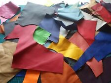 1 Kg Mix Colour Leather Large Offcuts Sample Furniture & Car Repairs Patchwork