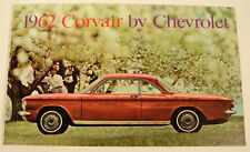 1962 CHEVROLET CORVAIR ADVERTISING SALES COLOR BOOKLET