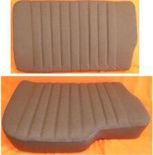 1 asiento para acompañante banco referencia + 1 oponemos referencia Unimog u1000+ Brauner sustancia-piel sintética