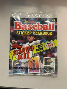 1989 Topps Baseball Sticker Yearbook - Orel Hershiser new in sealed package