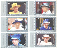 Royalty Alderney Regional Stamp Issues