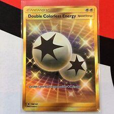 Pokemon TCG Double Colorless Energy DCE 166/145 Guardians Rising SECRET Gold
