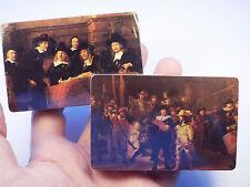 Vintage DUTCH MASTERS CIGARS Playing Cards 2 SEALED DECKS