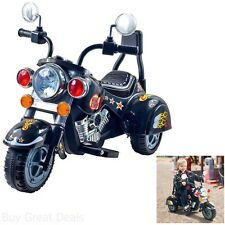 Motorcycles For Kids Child Bike Electric Ride on Chopper Toy Power Battery 3