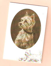West Highland White Terrier Notecards Note Card Westie by Mick Cawston Pack  5 b