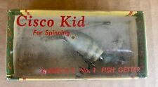 New listing Vintage Wallsten Tackle CISCO KID #1010 Fishing Lure for Spinning Original Box