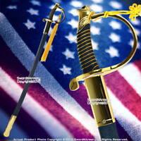 Military Ceremonial NCO Marines Saber Sword USMC Gold Scabbard