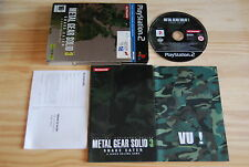 METAL GEAR SOLID 3 SNAKE EATER pour PlayStation 2