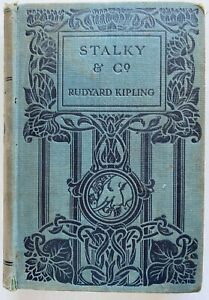 1913 Stalky And Co Hardcover RUDYARD KIPLING, hardcover, FREE EXPRESS worldwide