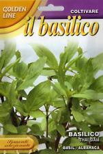 200 Semi/Seeds BASILICO Thai Siam