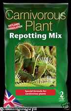Carnivorous Focus Repotting Mix 2 Litre Bag And Free Measuring Cup