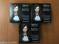 3 SETS TRESemme Platinum strength  Shampoo/Conditioner (Travel Size) 1fl oz