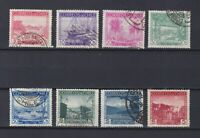 CHILE 1938, Sc#198-209, Ships, Used