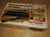 Neuware Kabel-TV digitaler Receiver Kathrein UFC662SW OVP Fernbedienung,Kabel,%%