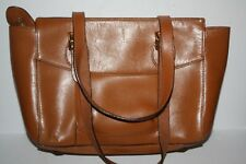 Ralph Lauren Brown Leather Handbag
