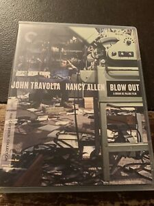 Blu-Ray - Blow Out (1981, Criterion Collection) Feat. John Travolta RARE