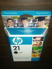 Original HP 21 Inkjet Print Cartridge Black Precise Reliable