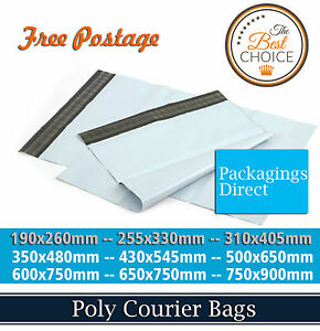 Premium Poly Mailer Courier Bag Plastic Shipping Postage Satchel