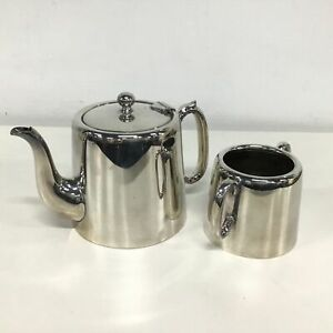 Electroplated Silver Coffee & Sugar Pot #454