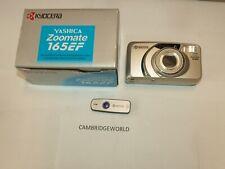 YASHICA KYOCERA Zoom NEW 38-165mm zoom 35mm film camera Quartz Date back remote