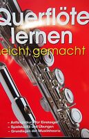 Flauto Traverso Libro Testo Flötenschule Corso Principianti Con E