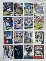 Indianapolis Colts Football Card Lot Philip Rivers Marlon Mack Hilton Manning