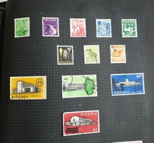 NIGERIA 1961 Definitive Set (no 4d) Fine used. SG89-93, 95-101.