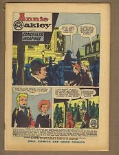 Annie Oakley and Tagg 14 Coverless o/w complete! Solid! (PG-GD $6) 1958 (c#01111