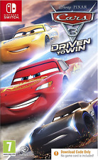 Cars 3 Driven to Win - Nintendo Switch - Code