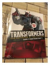 Transformers The Definitive G1 Collection Dark Cybertron Part 1 Issue 13 - New