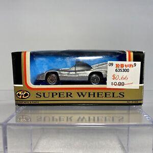 MotorMax / Zee Toys D62 Porsche 936 1:64 Scale Diecast Silver NEW