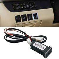 Car 2 USB Phone Adapter Plug & Play Cable For Toyota Corolla Highlander Prado