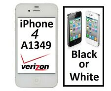 Apple iPhone 4 A1349 8gb to 16gb Verizon Black or White