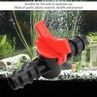 Aquarium Drosselklappe Wasserschlauch Durchflussregler 312mm Schalter 416mm N2I3