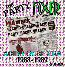 RAVE  ACID HOUSE 2 DISC CD SET  OLD SKOOL  THE PARTY FIXER