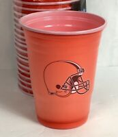 Cleveland Browns NFL Football Tailgate 18oz Plastic Disposable Party Cups BX254