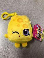 """Brand New 4"""" Shopkins Plush Hanger Keychain Backpack Clip US Seller Chee Zee kid"""
