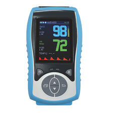 Adult+Infant+Neonate 3 probes, SPO2+PR+TEMP, handheld pulse oximeter,CE,Arystone